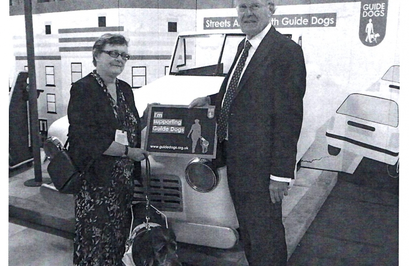 Chris Chope supporting Guide Dogs