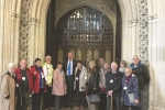 Chris with members from Barrington Centre visiting the House of Commons